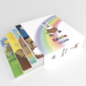 Colorin cuenta la Biblia - Set de 4 libros