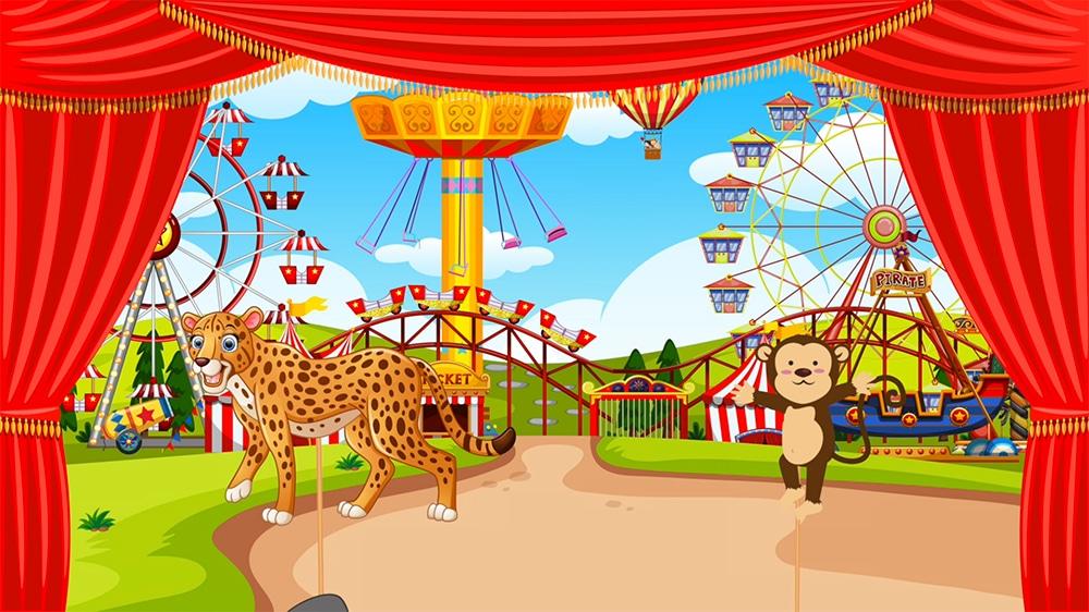 Fábula infantil el mono y el leopardo