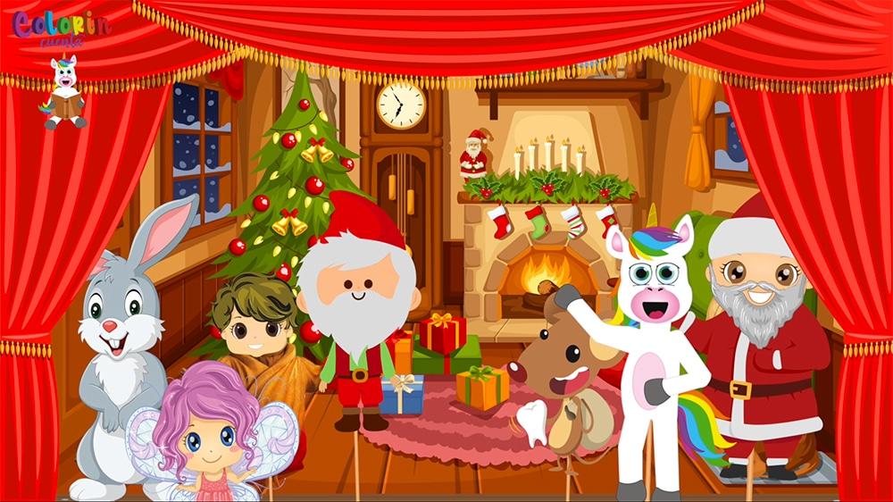 Cuento infantil La casa de Santa Claus