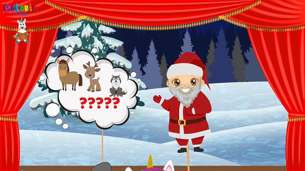Los renos de Santa Claus