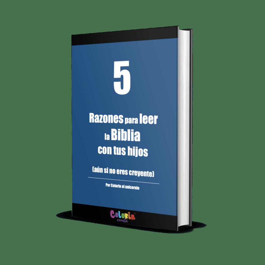 portada 5 razones de leer la biblia