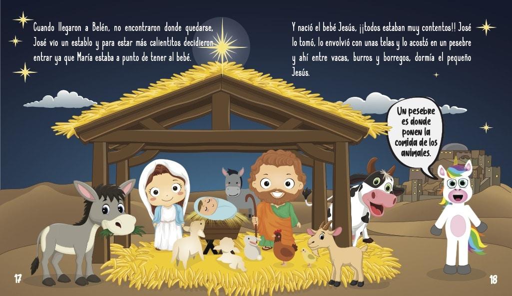 La historia de Jesús para niños - El nacimiento de Jesús