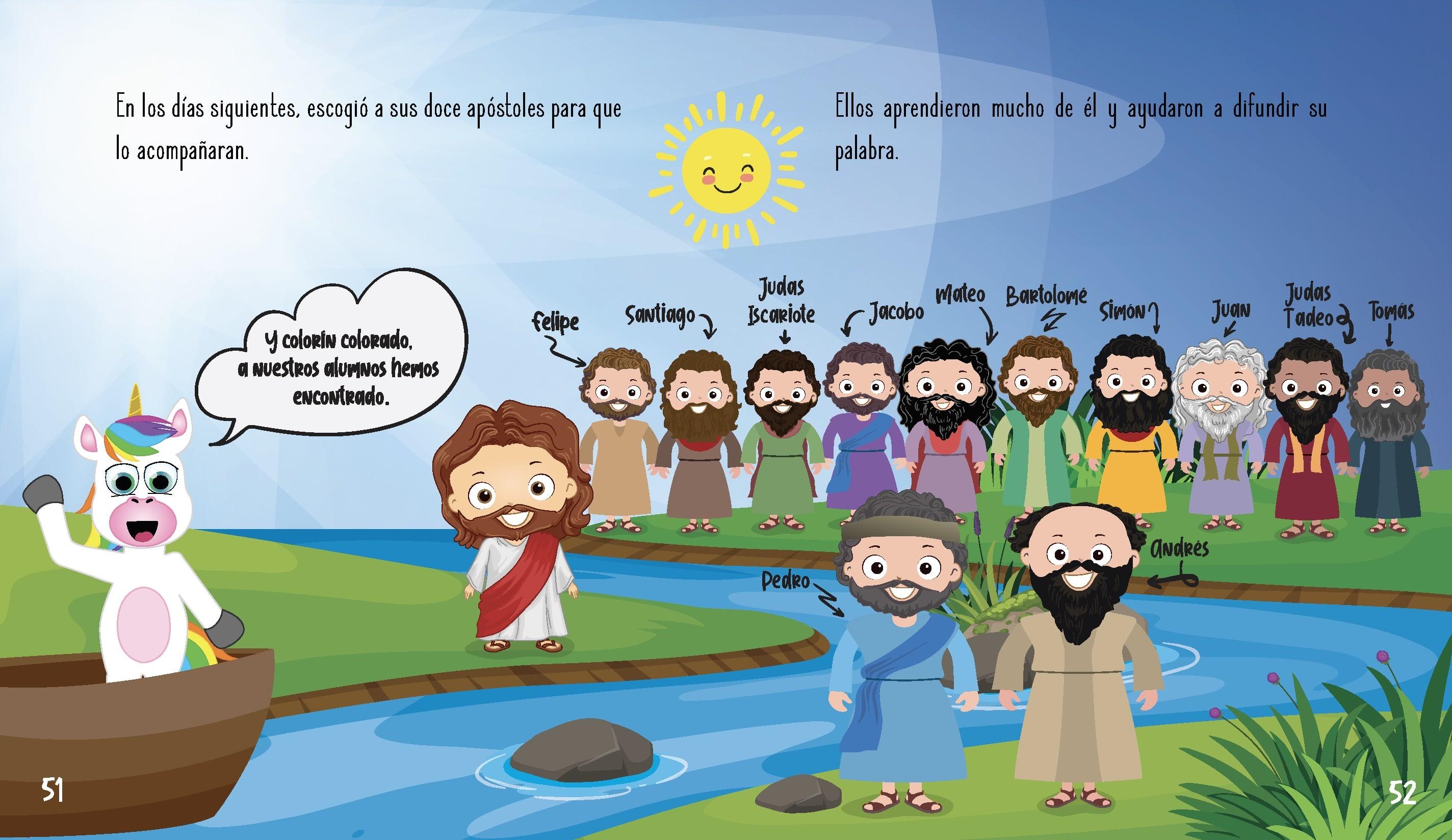 La historia de Jesús para niños- Los 12 apóstoles