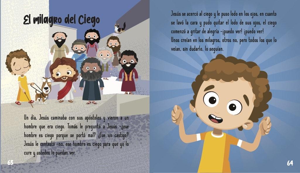 La historia de Jesus para ninos- El milagro del ciego