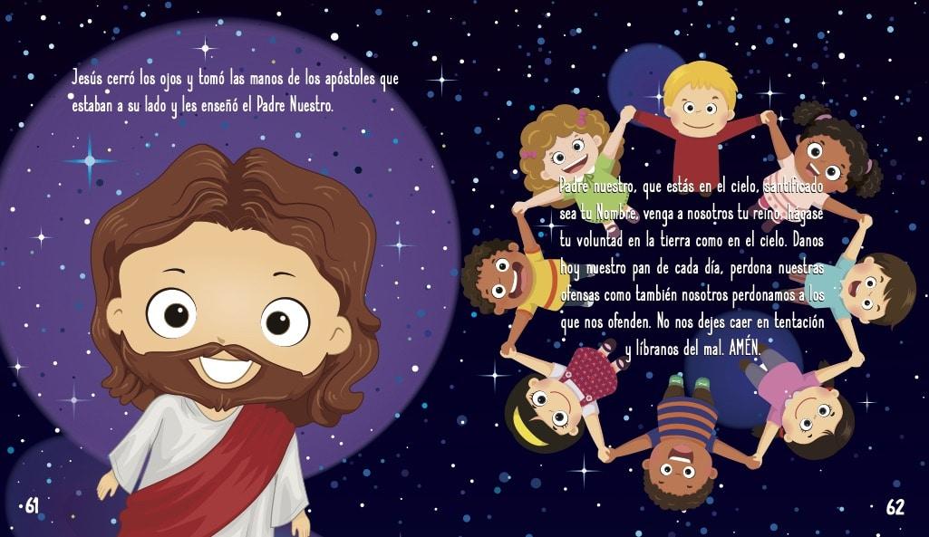 La historia de Jesus para niños- El padre nuestro