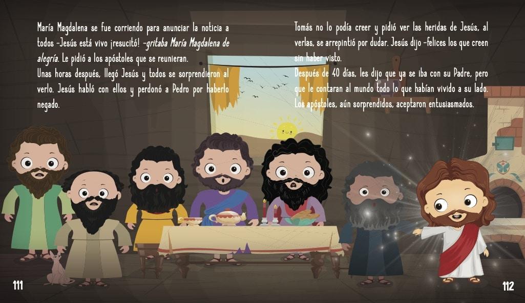 La historia de Jesús para niños- La resurrección de Jesús