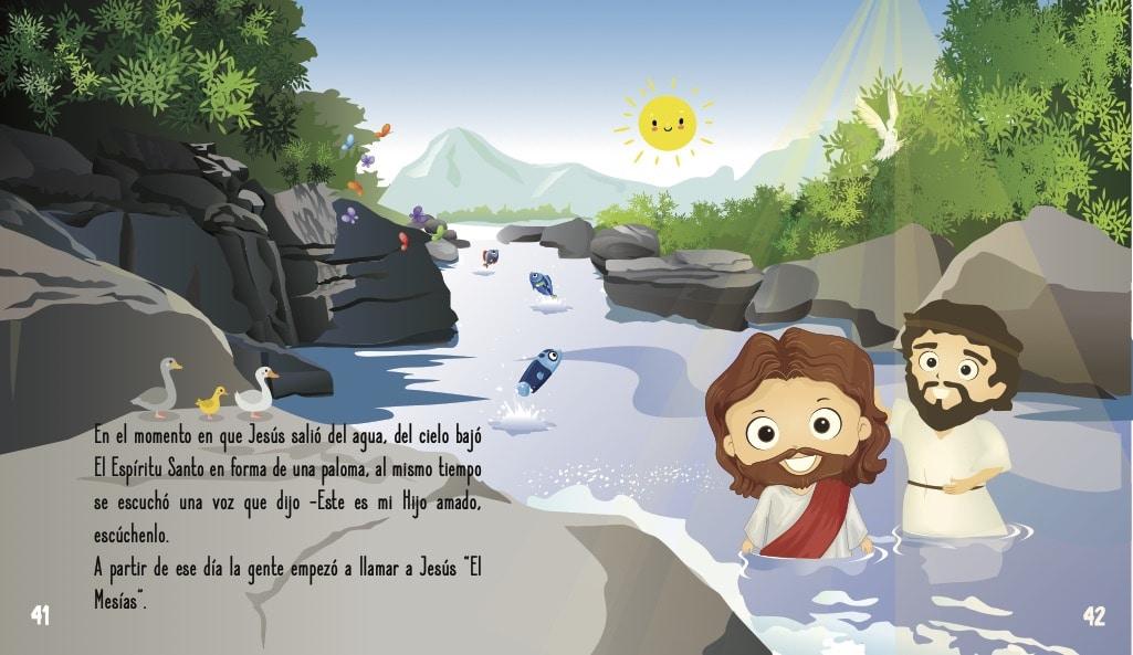 La historia de Jesús para niños- El bautismo de Jesús