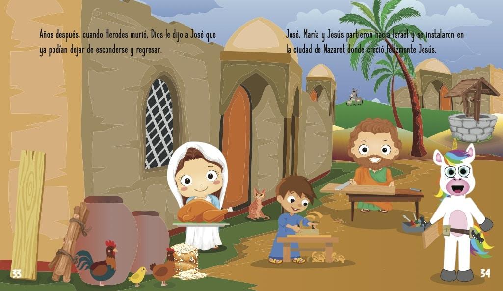 La historia de Jesús para niños- La juventud de Jesús