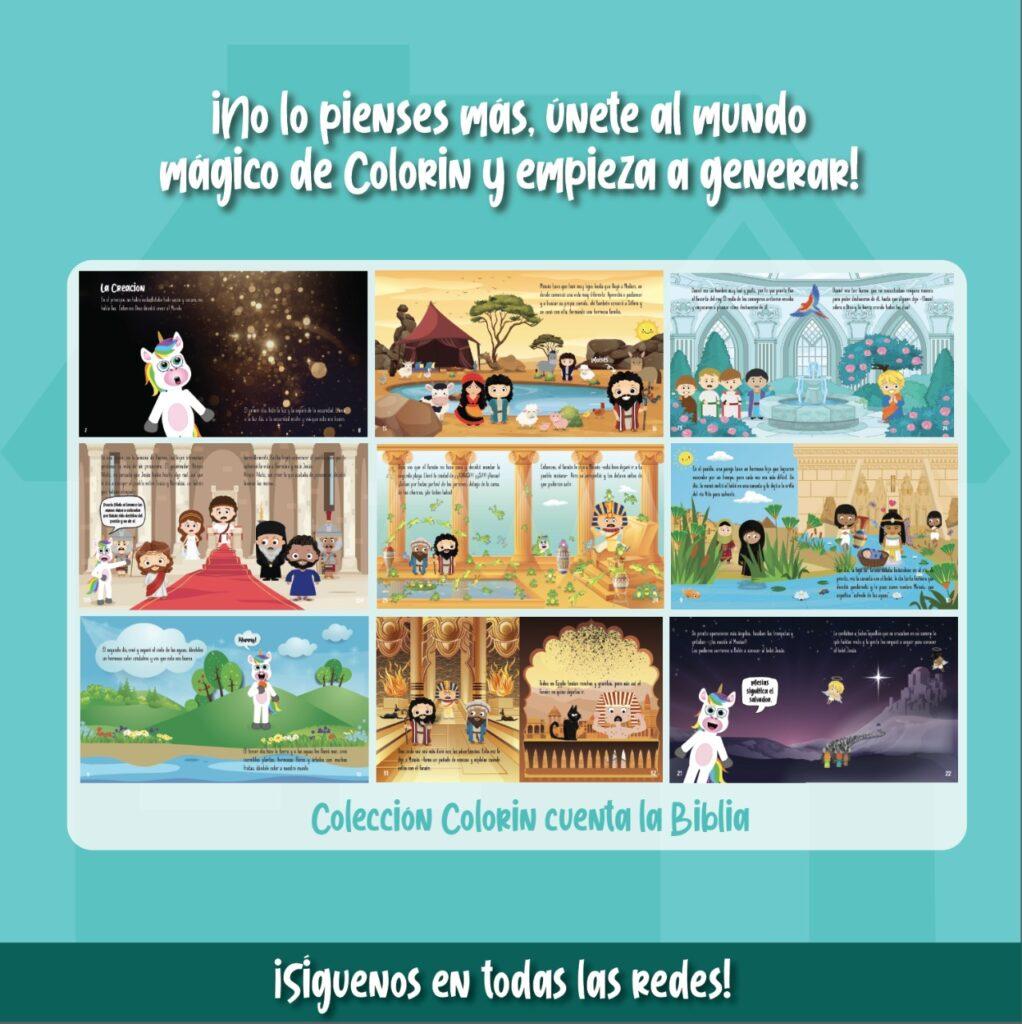 Programa de afiliación Colorin Cuenta 5