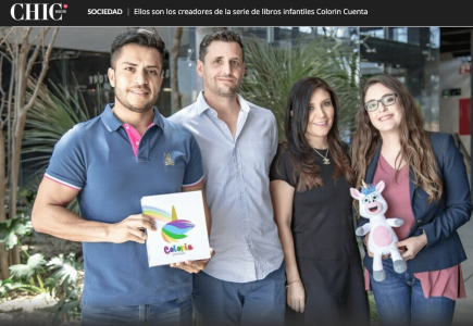 Colorin Cuenta entrevista en Chic Magazine
