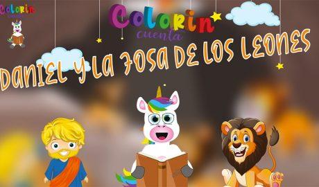 Cuentos de la Biblia para niños - Daniel en el foso de los leones