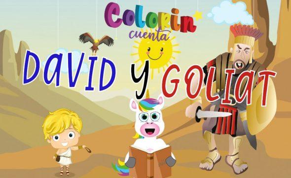 David y Goliat para niños - Cuento para niños