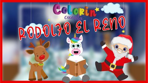 Cuento Rodolfo el reno de Santa Claus